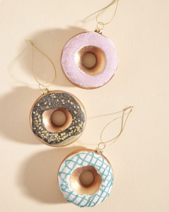donut ornaments christmas