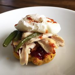 Thanksgiving Leftovers: Eggs Benedict