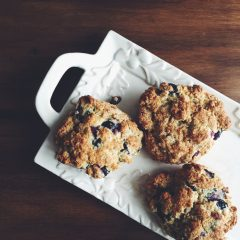 Blueberry Scones – Recipe