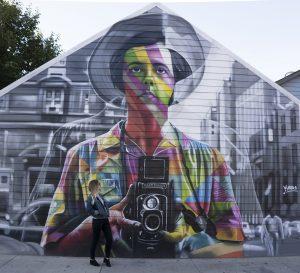 Eduardo Kobra x Vivian Maier – Chicago